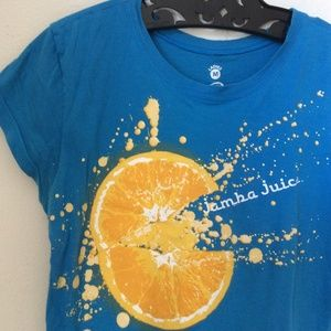 Jamba Juice Squeeze of the Day Bright Tee